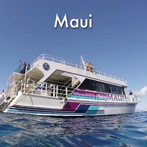 Molokini snorkel cruise
