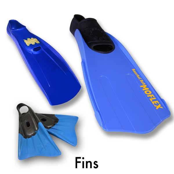 snorkeling gear fins