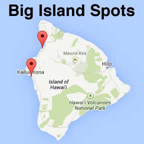 kona snorkel locations