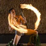 Maui Nui Luau Fire Dancer