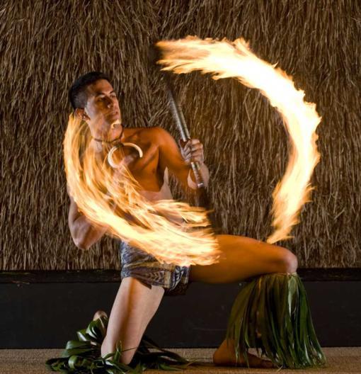 Maui Nui Luau Fire Dancer