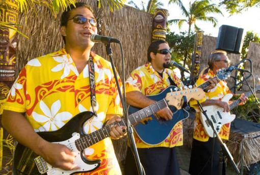 Maui Nui Luau Musicians