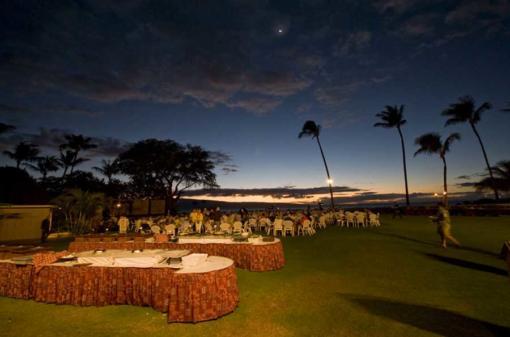 Maui Nui Luau Sunset