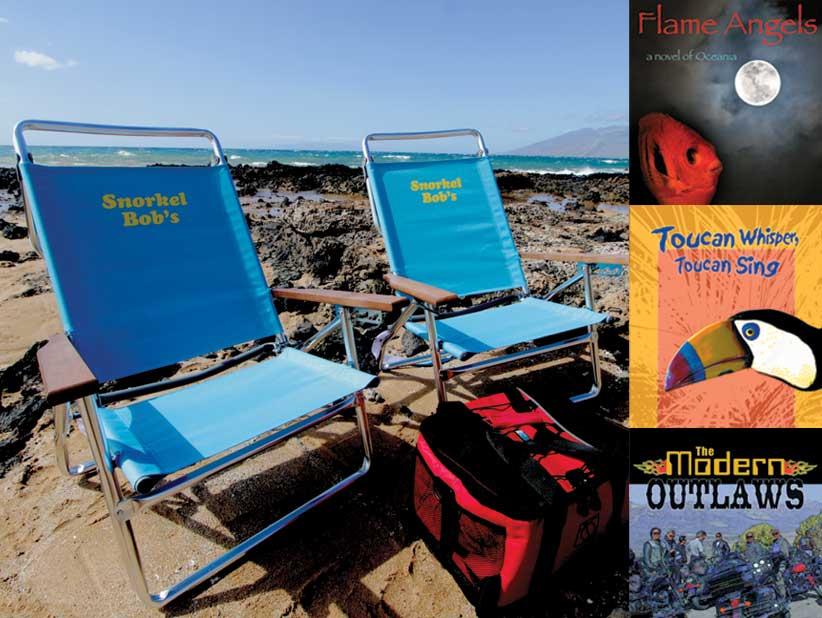 beach chairs Hawaii & Hawaii Beach Chair u0026 Cooler Rentals | Snorkel Bobu0027s
