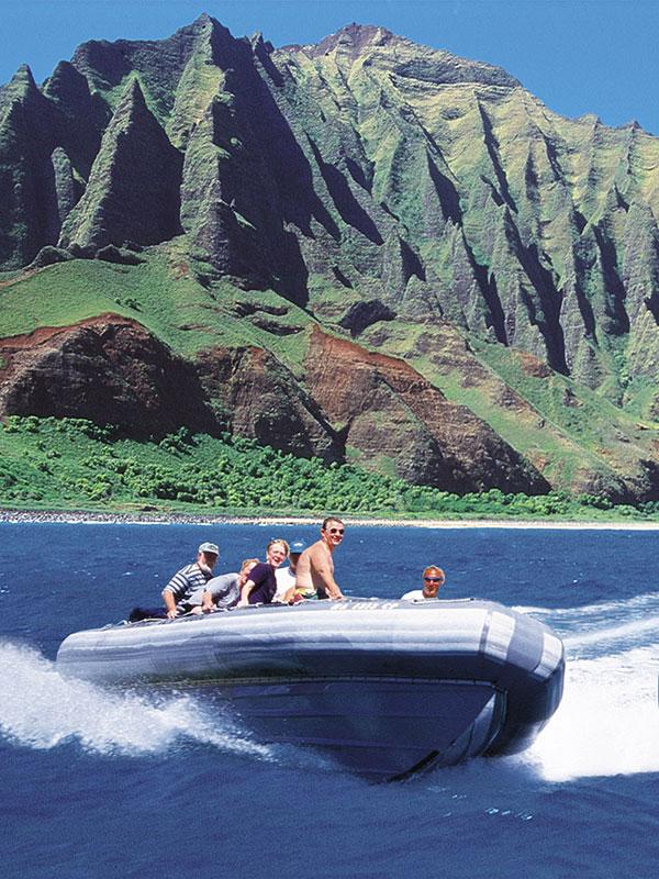 Kauai Sea Tours Nualolo Kai Beach Landing