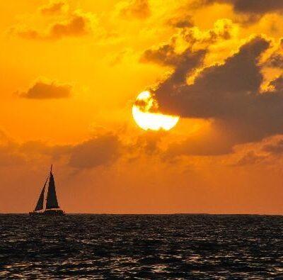 hawaii nautical sunset